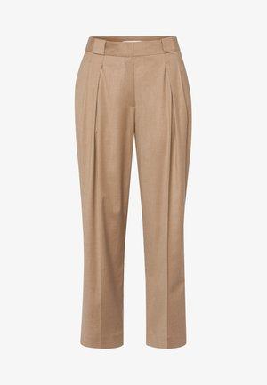 SHRUB - Trousers - sand melange