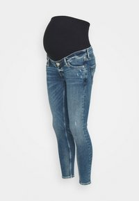 River Island Maternity - AMELIE RODNEY MID RIPS OVERBUMP - Jeans Skinny Fit - blue - 0
