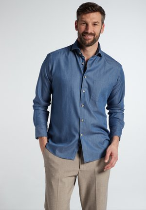 COMFORT FIT - Chemise classique - jeansblau