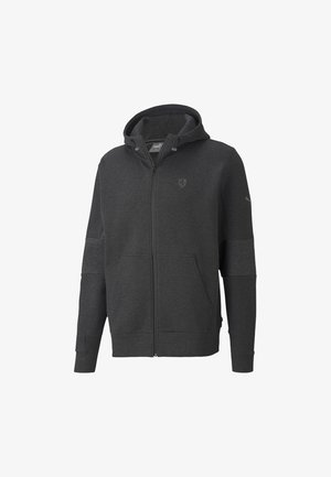 SCUDERIA FERRARI STYLE  - Zip-up hoodie - dark gray heather