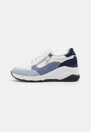 LACE UP - Sneakers basse - blue