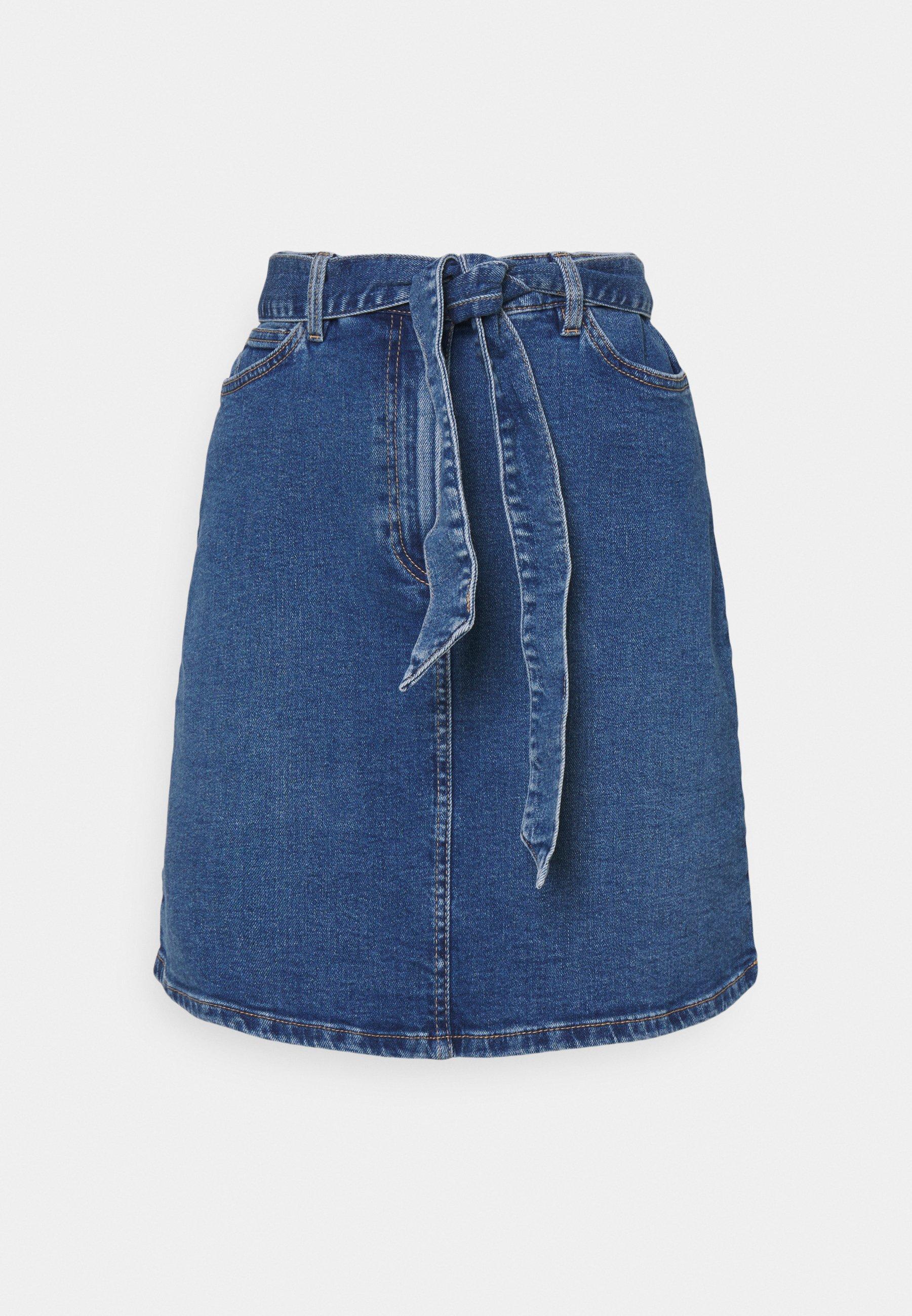 Women SKIRT CARINA - Denim skirt