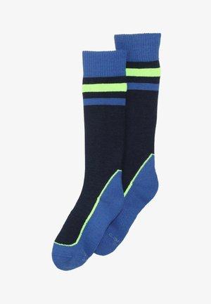 ONLINE CHILDREN FASHION KNEEHIGH 2 PACK - Knee high socks - blue
