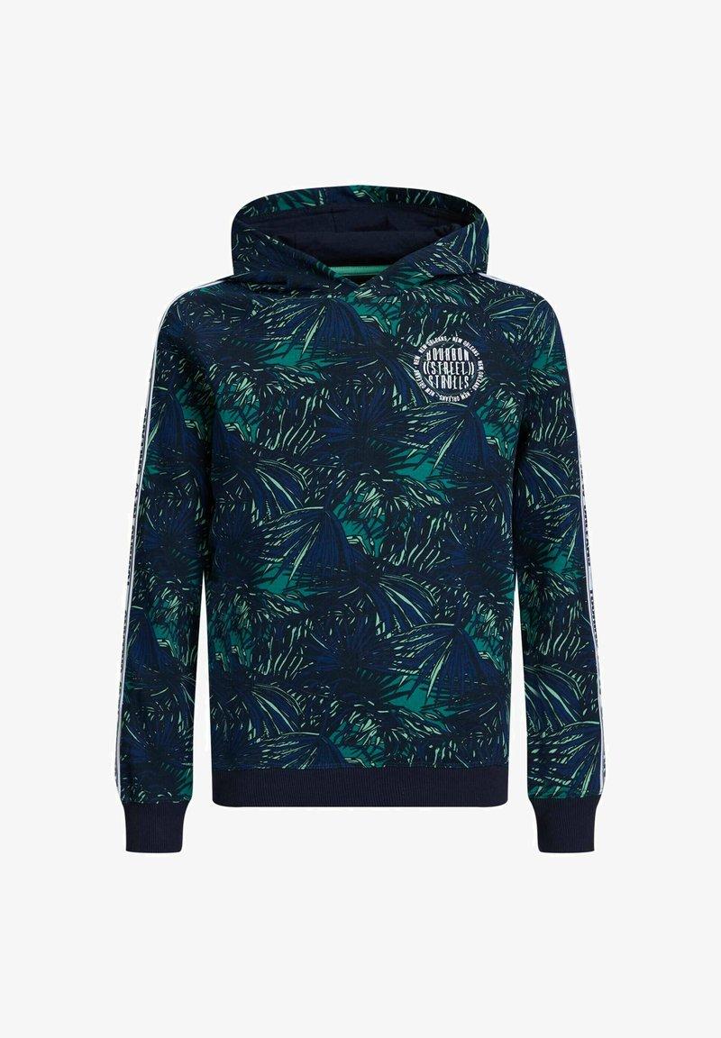 WE Fashion - Hoodie - blue,green