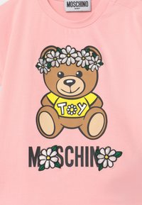 MOSCHINO - Print T-shirt - sugar rose - 2