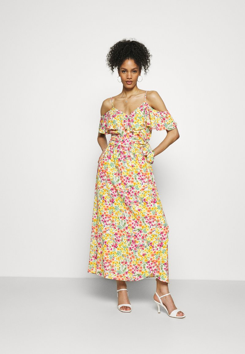 NAF NAF - COSTA - Denní šaty - costa ecru