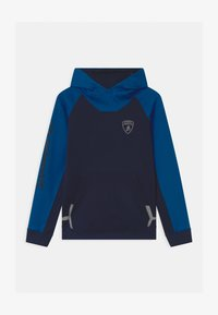 Automobili Lamborghini Kidswear - COLOR BLOCK HOODED - Sweatshirt - blue hera - 0