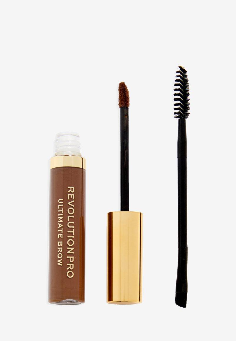 Revolution PRO - ULTIMATE BROW GEL - Eyebrow gel - medium brown