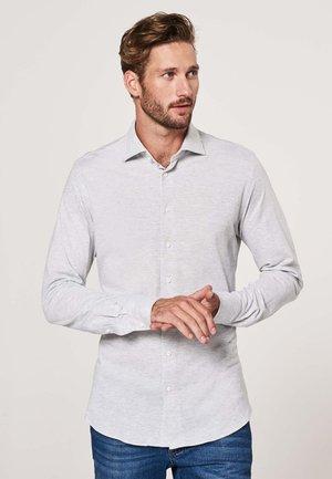 SLIM FIT - Shirt - licht grijs
