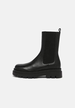 MORRISSON AVENUE - Platform ankle boots - black