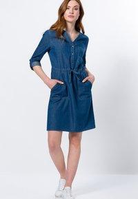 zero - Denim dress - mid blue clean wash - 1