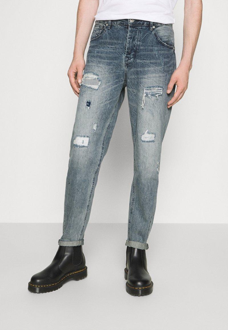 Gianni Lupo - Straight leg jeans - blue