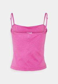 Nike Sportswear - TANK CAMI - Linne - active fuchsia/white - 5