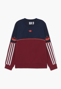 adidas Originals - OUTLINE CREW - Sudadera - dark blue - 0