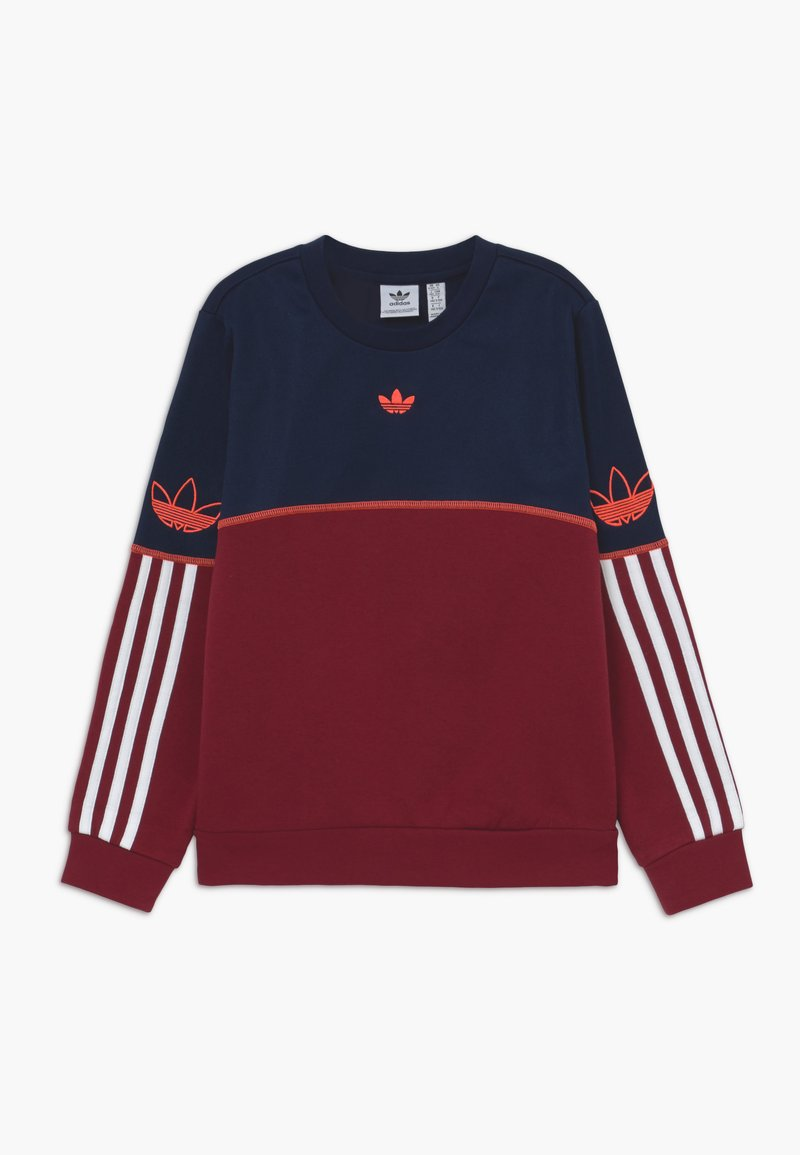 adidas Originals - OUTLINE CREW - Sudadera - dark blue