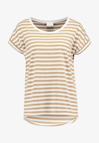 Vila - VIDREAMERS PURE  - Print T-shirt - tigers eye/optical snow - 3