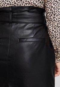 Vero Moda - VMEVA PAPERBAG SHORT SKIRT - Mini skirt - black - 3