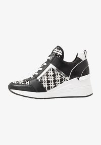 MICHAEL Michael Kors - GEORGIE TRAINER - Baskets basses - black/silver - 1