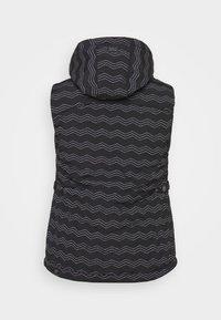 Ragwear Plus - HESTY - Veste sans manches - black - 1