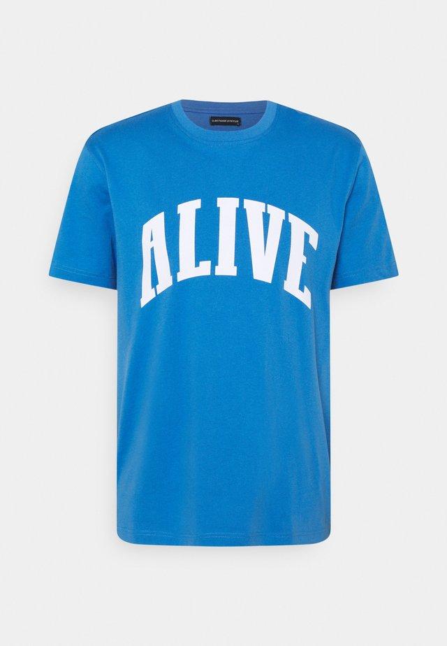 UNISEX REGULAR FIT - Print T-shirt - palace blue