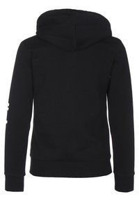 adidas Performance - ESSENTIALS - Sudadera con cremallera - black / white - 1