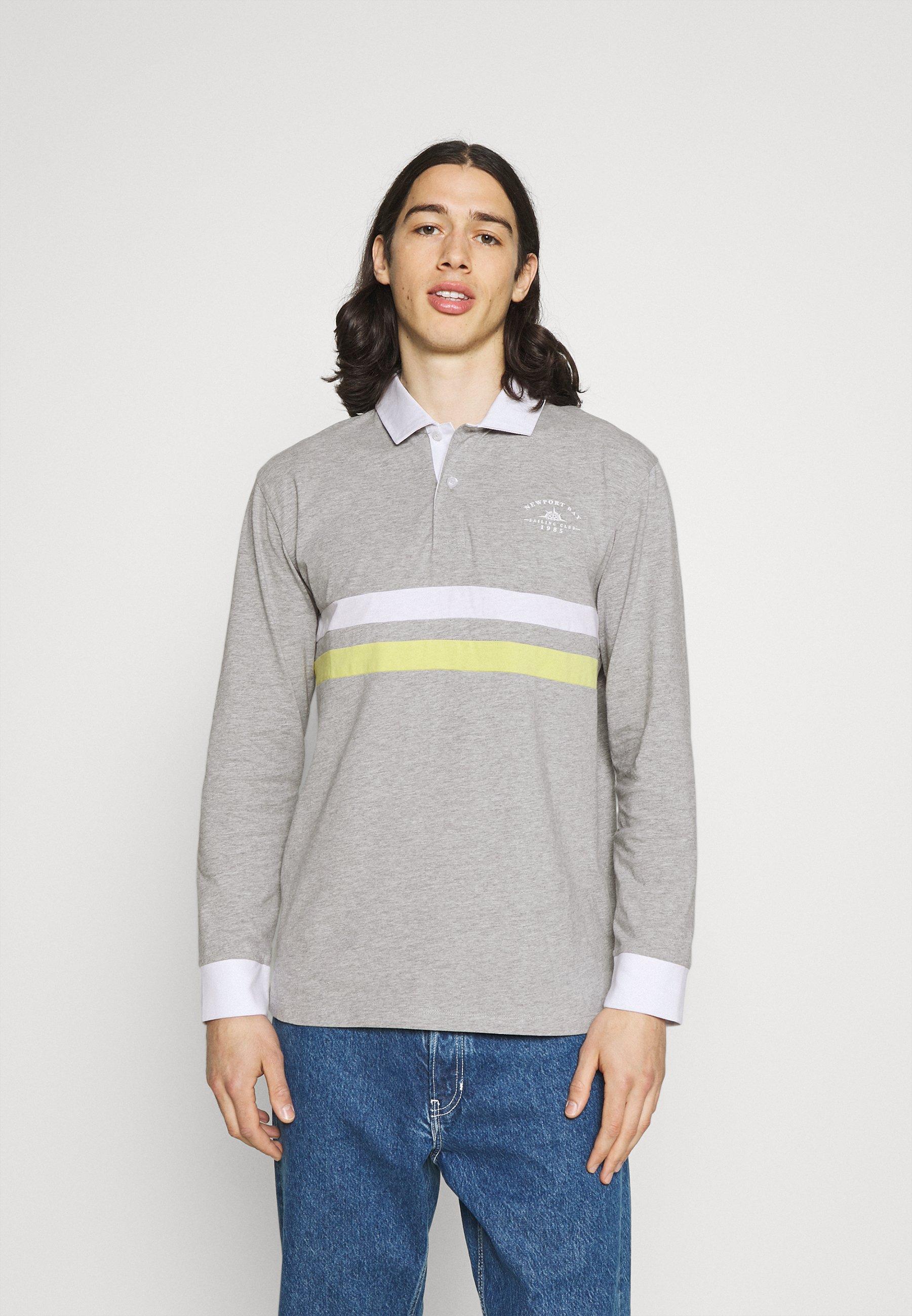 Men CORE STRIPE RUGBY - Polo shirt