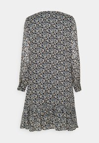 Marc O'Polo - DRESS FLUENT SHORT STYLE V NECK - Day dress - multi - 1