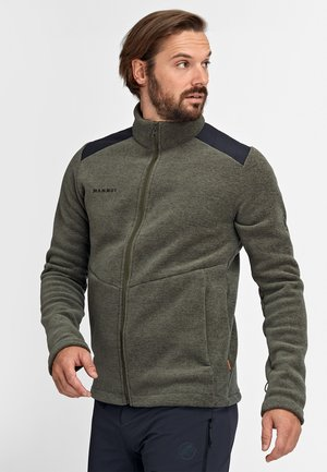 Fleece jacket - iguana melange