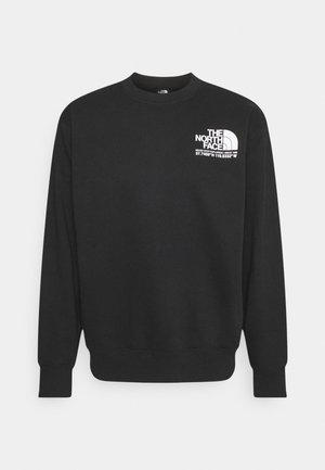 COORDINATES CREW - Sweatshirt - black