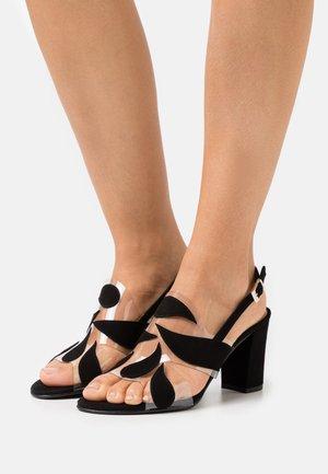 PORTU - Sandals - black