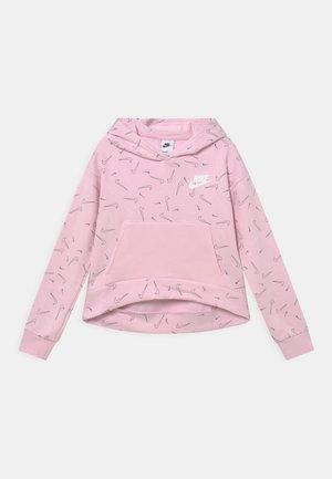 HOODIE - Collegepaita - pink foam/white