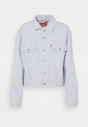 OVERSIZED UTILITY TRUCKR - Veste en jean - waste not