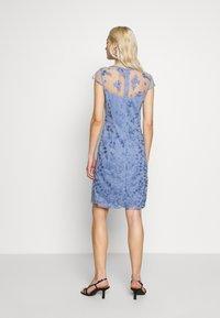 Esprit Collection - DEGRADÉ FLORAL - Cocktailkleid/festliches Kleid - blue lavender - 2