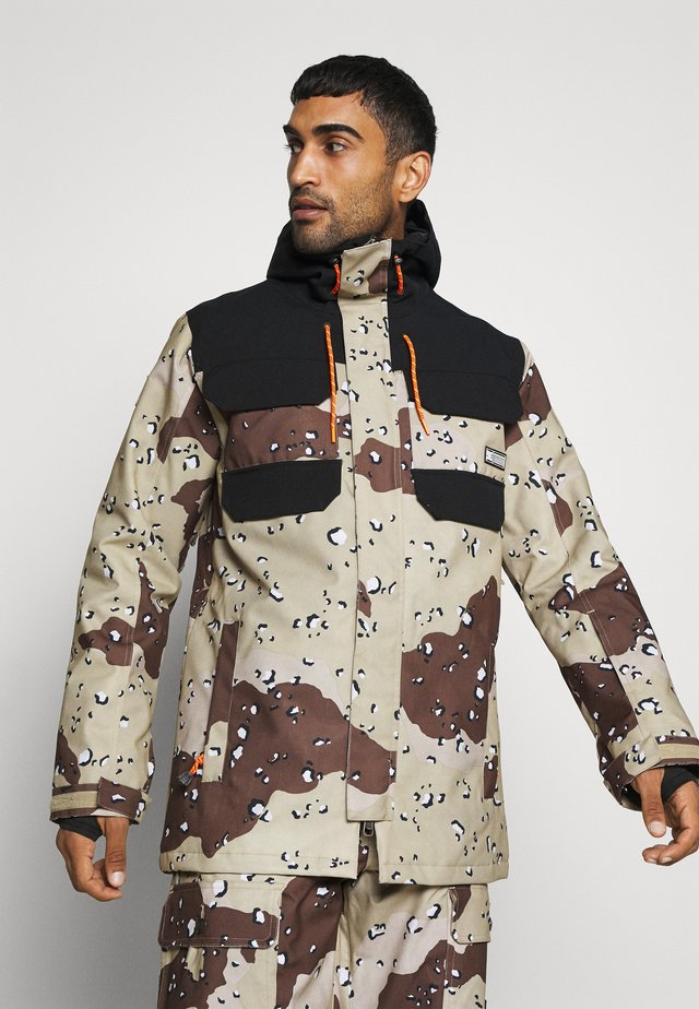 HAVEN JACKET - Giacca da snowboard - chocolate chip