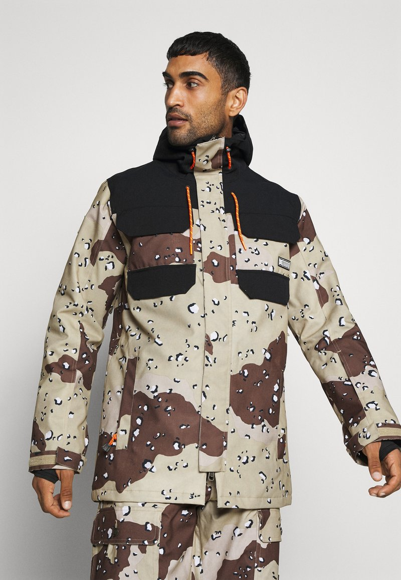 DC Shoes - HAVEN JACKET - Snowboard jacket - chocolate chip