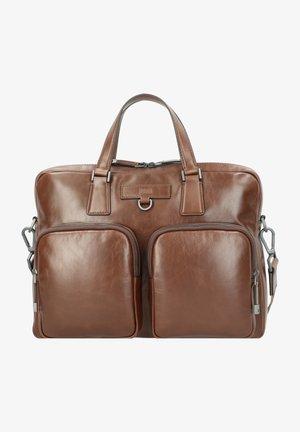 Briefcase - medium brown