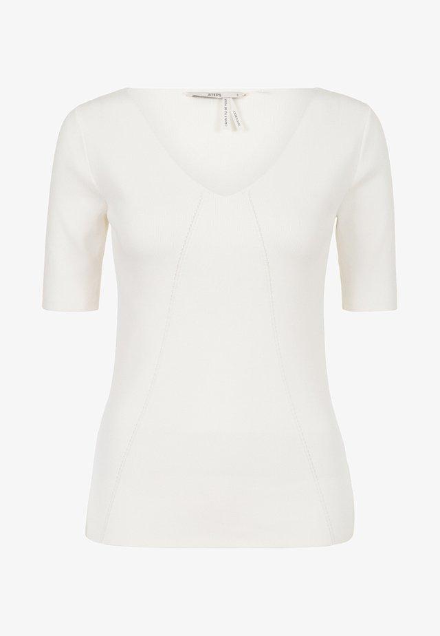 BONNETERIE  - Basic T-shirt - snow white