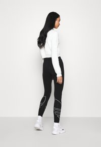 adidas Originals - LOGO TIGHTS - Leggings - Trousers - black - 2