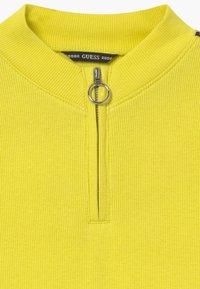 Guess - JUNIOR - Top sdlouhým rukávem - yellow - 2