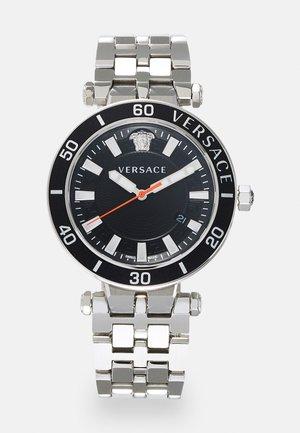 GRECA SPORT - Zegarek - silver-coloured/black