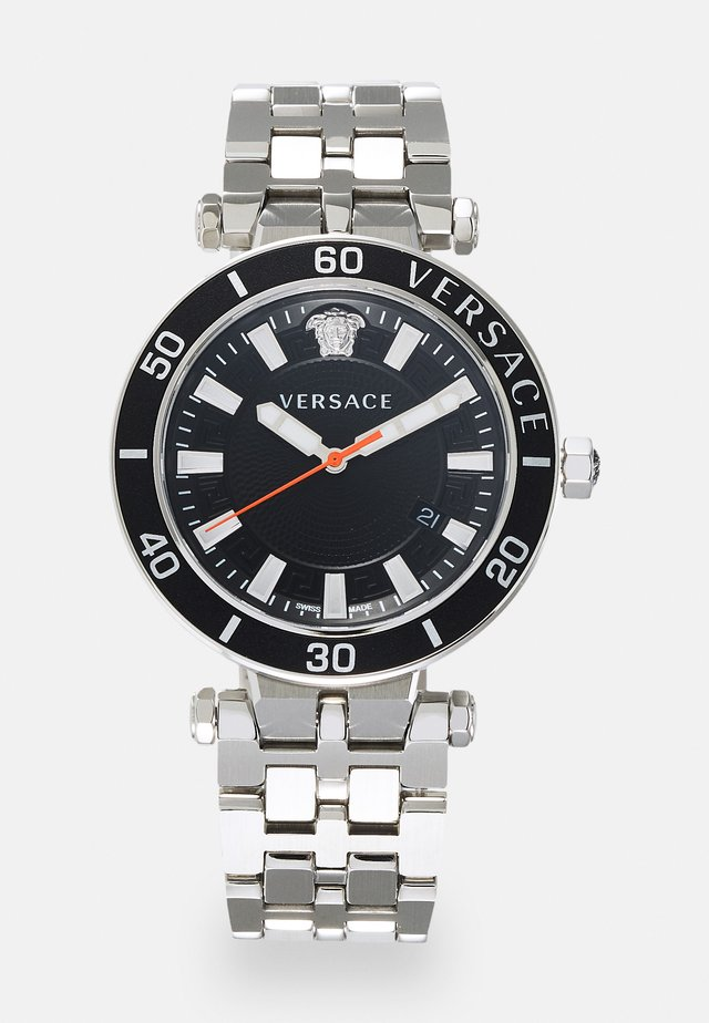 GRECA SPORT - Horloge - silver-coloured/black