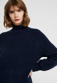 Tommy Jeans - LOFTY TURTLE NECK - Pullover - black iris - 3