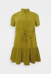 Simply Be - UTILITY SHIRT DRESS - Shirt dress - khaki - 4