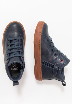 KIDO KIDS - Bottines à lacets - navy