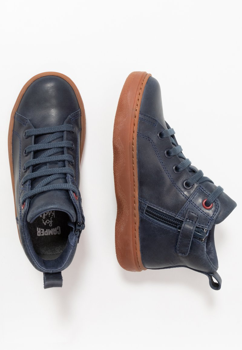 Camper - KIDO KIDS - Lace-up ankle boots - navy