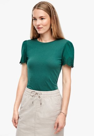 MIT EMBROIDERY - Blouse - green