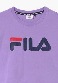 Fila - BEA  - T-shirt à manches longues - sand verbena/grape leaf - 2
