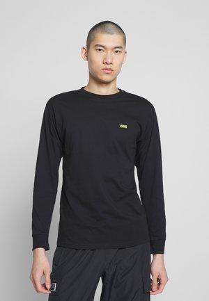 MN LEFT CHEST HIT LS - Long sleeved top - black