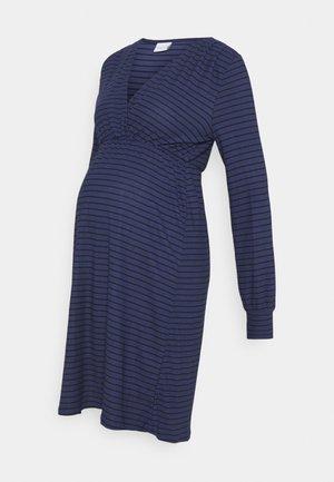 TESS DRESS - Jersey dress - blue ribbon/black