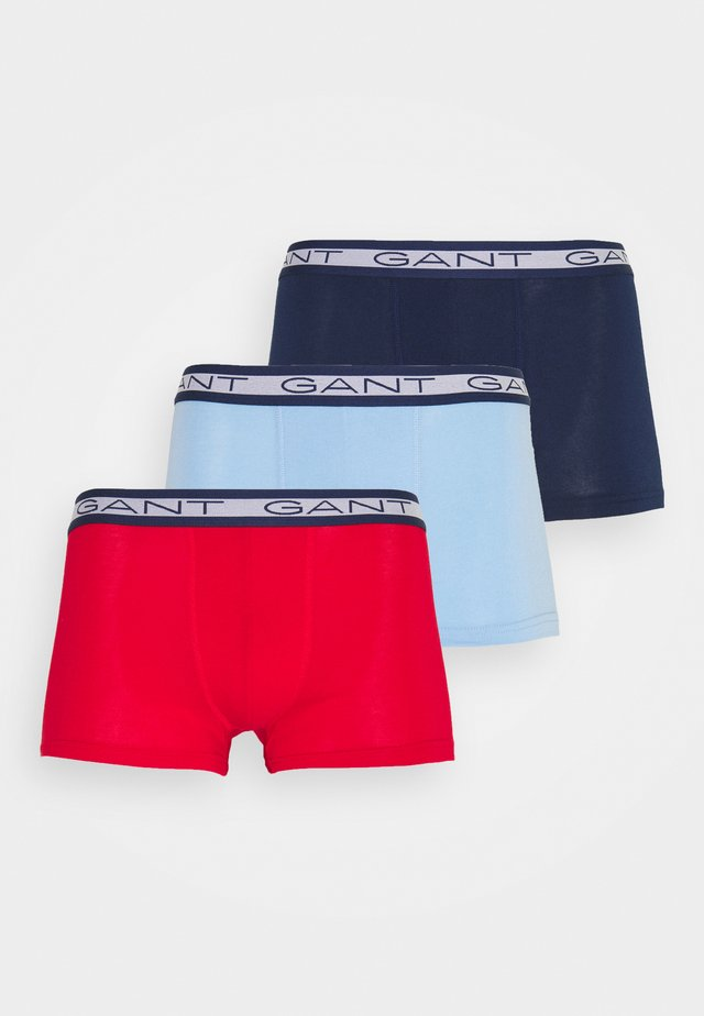 BASIC TRUNK 3 PACK - Boxerky - bright red